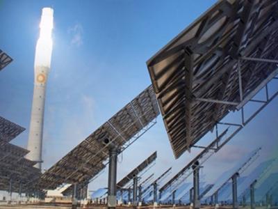 Solar goldfields
