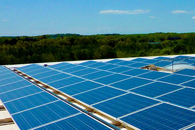 Solar Panels and Mountains. Flickr User Cummings Properties