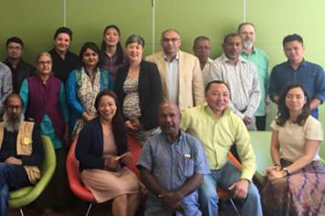 Asia-Pacific Greens study tour participants