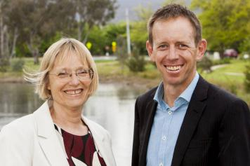 Shane Rattenbury and Caroline Le Couteur, ACTS MPs