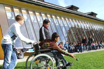 Wheelchair bocce