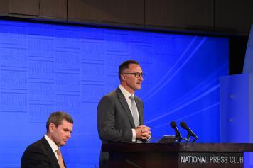 Richard at the National Press Club