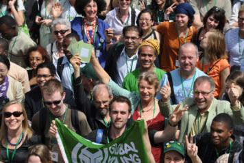 Global Greens Conference in Dakar in 2012
