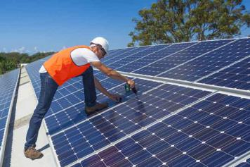 Solar jobs.