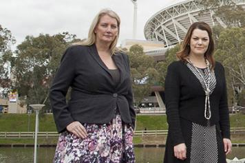 Tammy Franks, MP and Senator Sarah Hanson Young