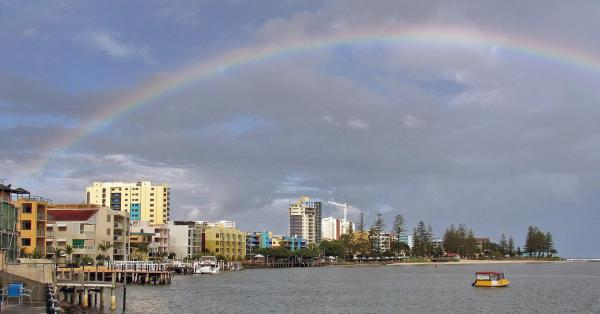 The shores of Caloundra, Sunshine Coast.