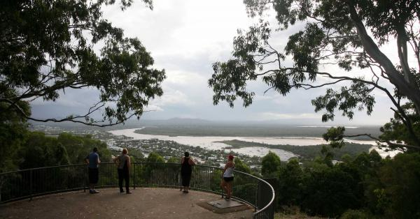 A lookout over Noosa, Queensland.