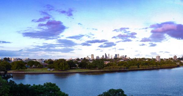 St Lucia over the Brisbane river. Image: Flickr user Thomas Huxley