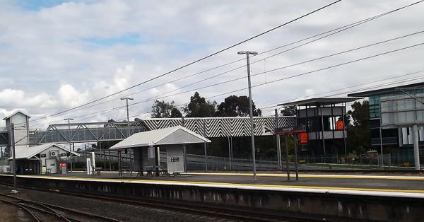 Yeerongpilly Train Station.