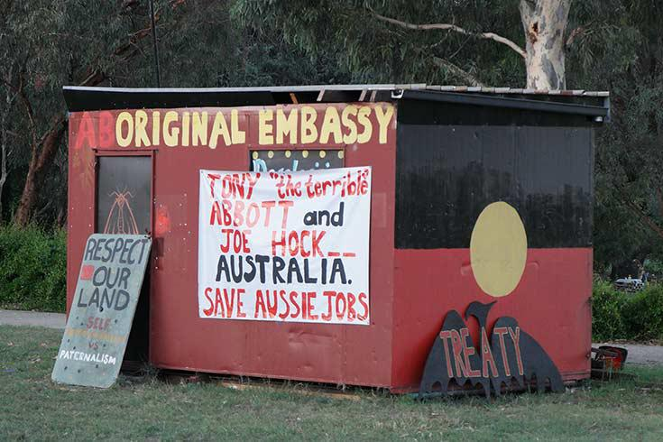 Aboriginal Tent Embassy, Canberra