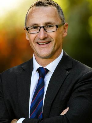 Richard Di Natale in Flagstaff Gardens