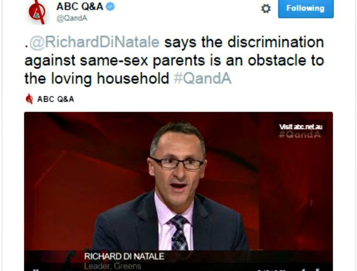 Richard Di Natale on QandA